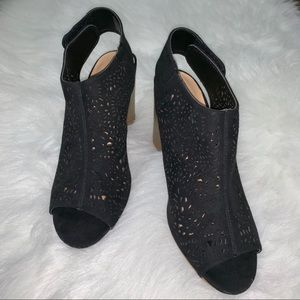 Black/Brown Big Buddha heels